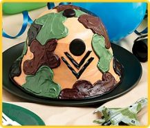 Army Theme Party Cake