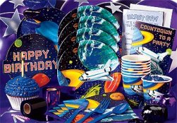 Space Kid Theme Party Pack