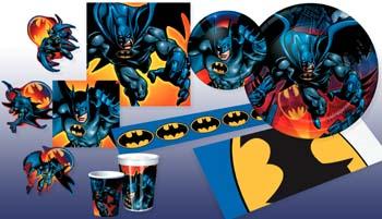 Batman Party Plan