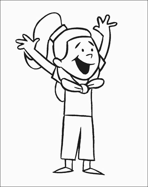 Clifford the Dog Coloring Page
