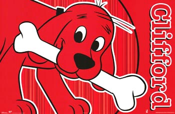 Clifford the Dog Poster