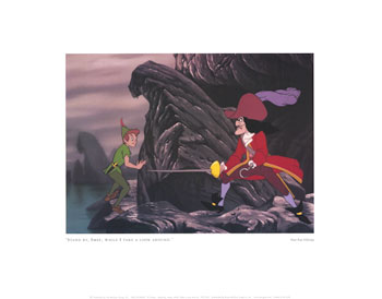 Peter Pan Pictures Poster