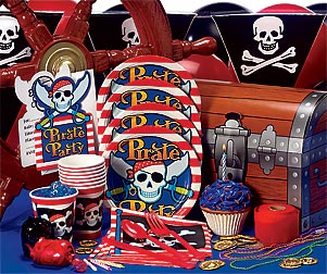 Pirate Birthday Party Pack