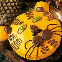 Safari Child Birthday Party Ideas Cake