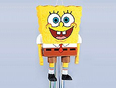 SpongeBob Birthday Party Idea Pinata