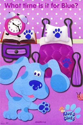 Click to View Blue's Clues Poster