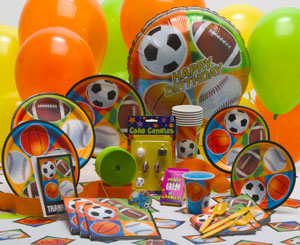 Ultimate Sports Birthday Theme Parties
